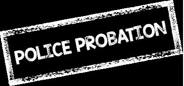 Police Probation Stamp
