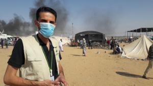 Gharib Al Sinwar, field worker for Al Mezan