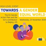 EU Gender Action Plan III: ambitions amid global backlash on gender equality